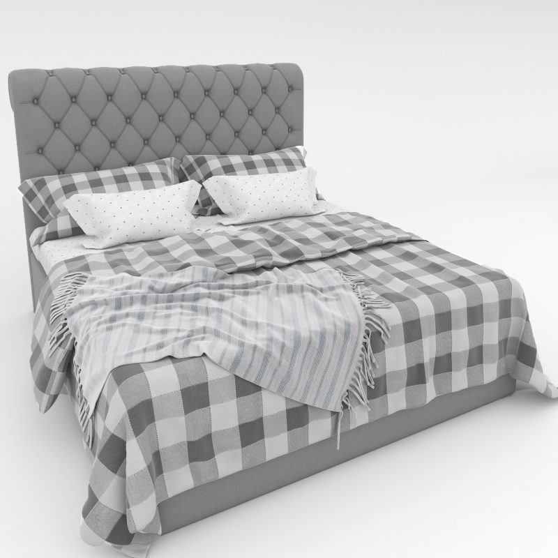 Franchesco Bed 3d model