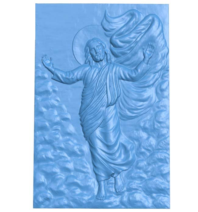 Ascension of Christ 3D Relief